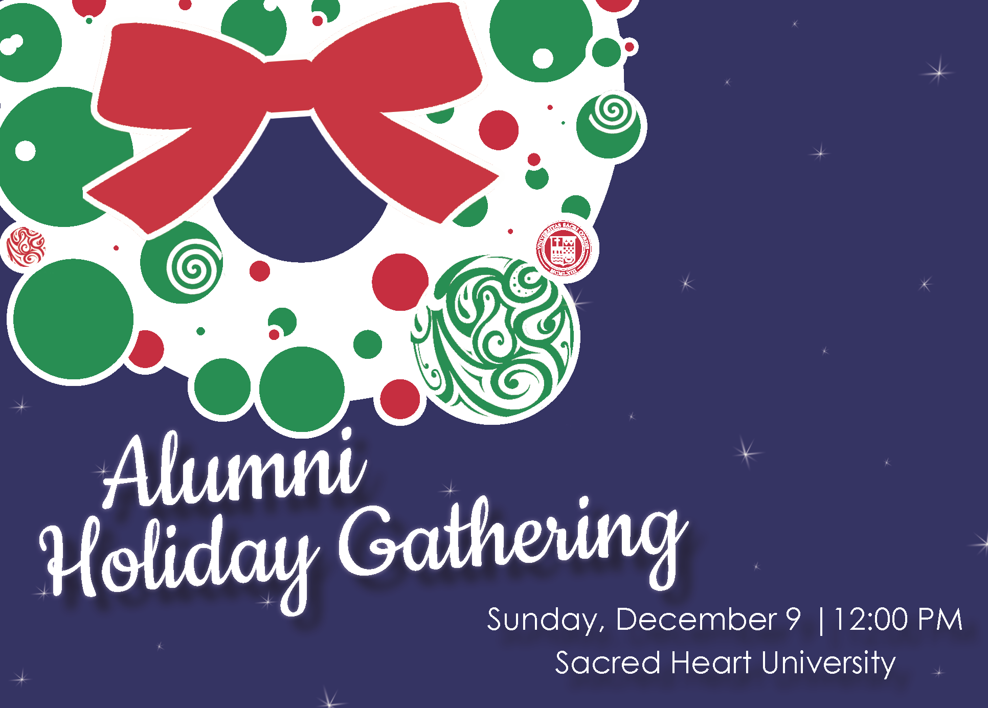 Holiday Gathering Invite
