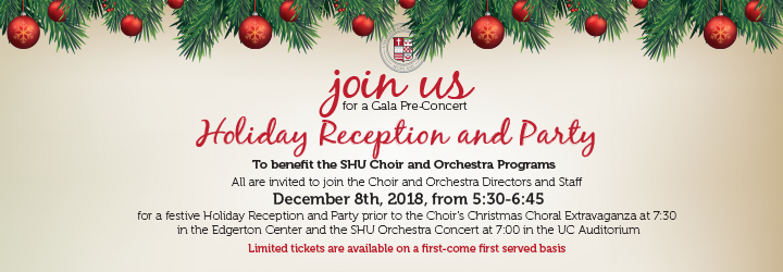 Choir&Orchestra Holiday Recep