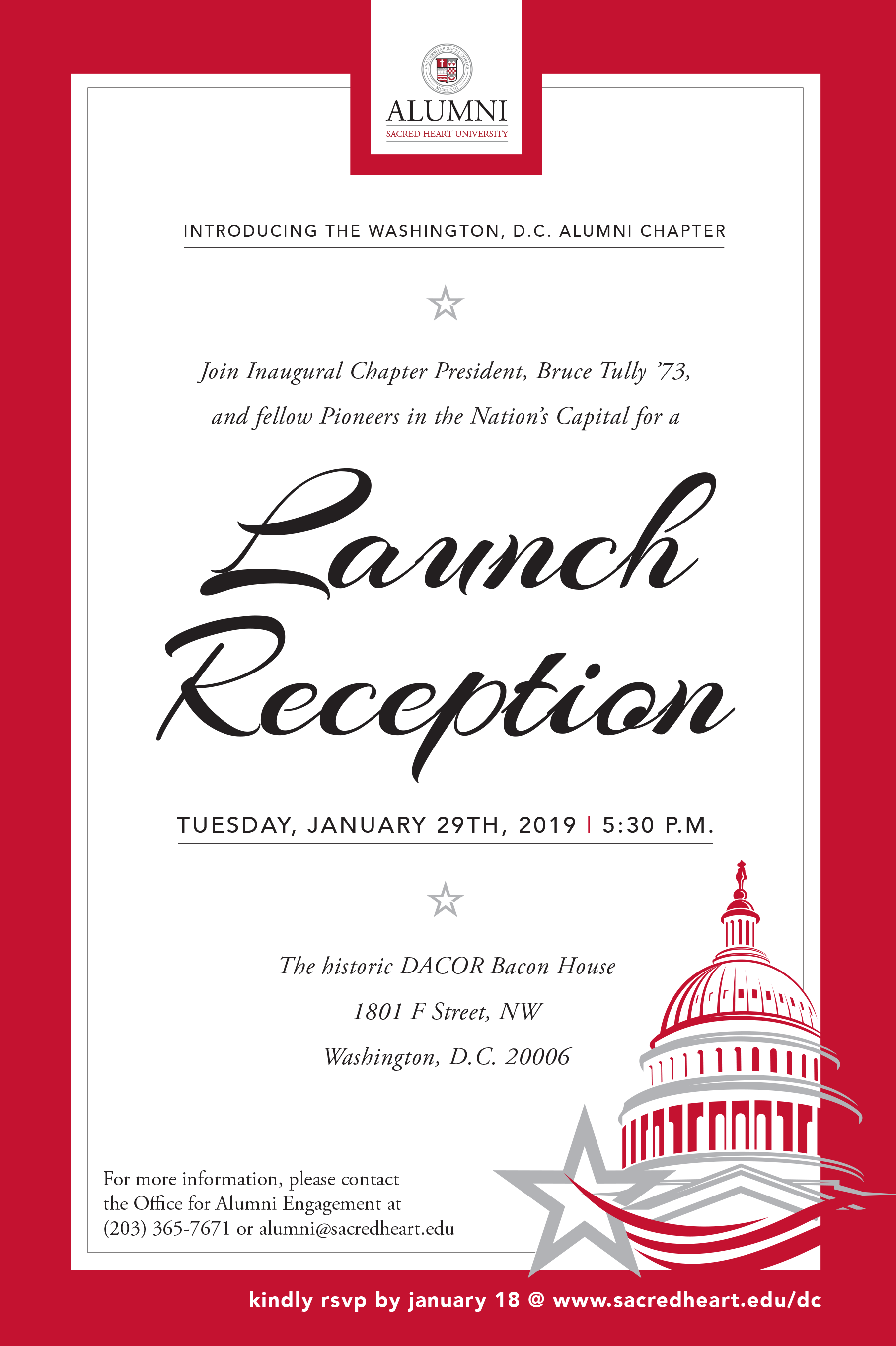 You're Invited to DC event
